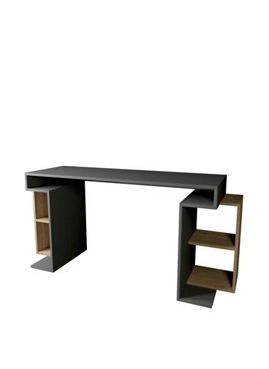 Mobitopya Çalışma Masası / ANTRASİT-ÇAM Renkli